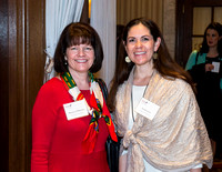 Women's Bar Association of DC annual Holiday Tea at the Willard Intercontinental Hotel